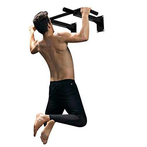 GOPLUS Wall Mounted Pull Up Bar