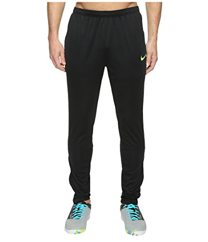 Dry Academy Football Pant   Black Electric Green