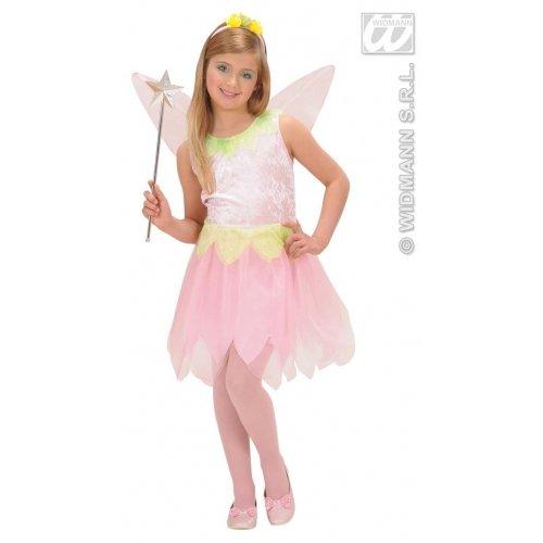 Children's Pink Flower Pixie Child 158cm Costume Large 11-13 Yrs (158cm) For