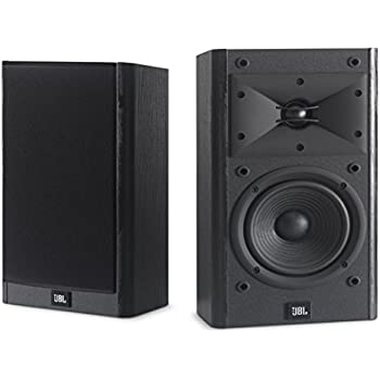 JBL Arena B15 Black Bookshelf Surround Speaker With Special Edition Grilles Logo Set Of 2
