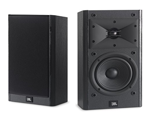 JBL Arena B15 Black Bookshelf & Surround Speaker with Special Edition Grilles...