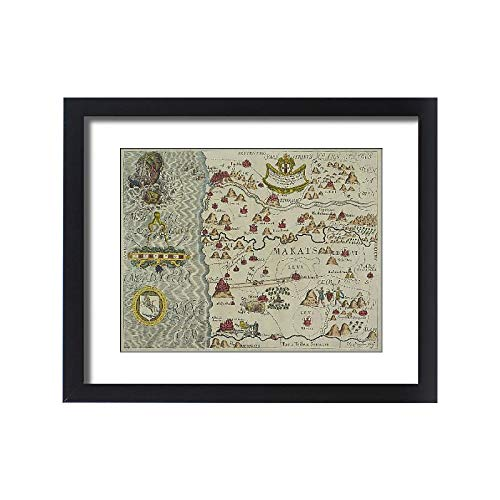 - Media Storehouse Framed 20x16 Print of Antique map of Tribes in The holy Land (13609449)