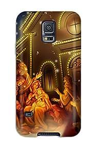 ZKC-215tOBpyaYX Celebrating Jesus Birth Fashion Tpu S5 Case Cover For Galaxy