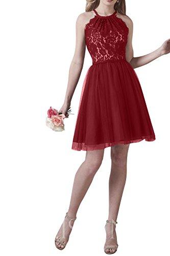 mia Kleider Abendkleider Jugendweihe Mini Brau La Festlichkleider Rot Attraktive Damenmode Dunkel Spitze Cocktailkleider Partykleider vTnpnxdXqF