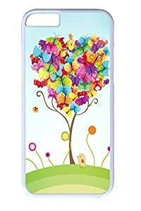 Colorful Butterfly Slim Soft For Ipod Touch 4 Case Cover Case PC White Cases