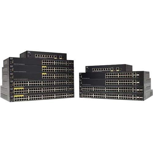 Cisco Systems 28-Port Gigabit Managed Switch (SG350-28-K9-NA)