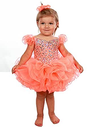 Amazon Beiji Small Girls Short Glitz Cupcakes