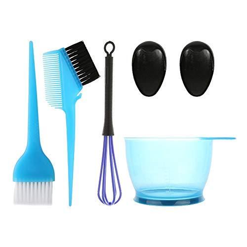 5PCS Hair Dye Color Brush and Bowl Set, Salon Hair Coloring Dye Brush Comb Ear Caps Dye Mixer Hair Tint Dying Coloring…