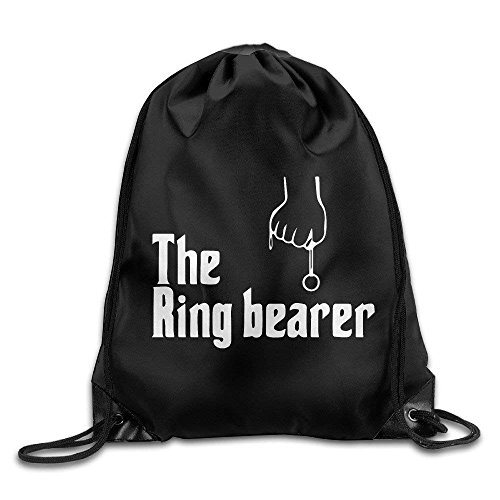Basic Chicks Dig A Ring Bearer Drawstring Backpack Bag -