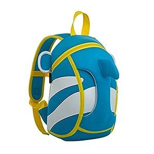 Nohoo 3D Clown Fish Kids Backpack Cartoon Finding Nemo Preschool Toddler Bag