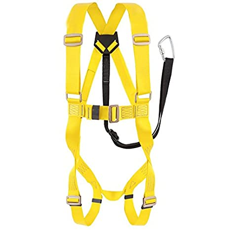 BELLSTONE Nylon Full Body Harness (Multicolour)