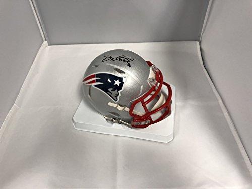 Danny Amendola Signed Autographed New England Patriots Mini Helmet COA & Hologram