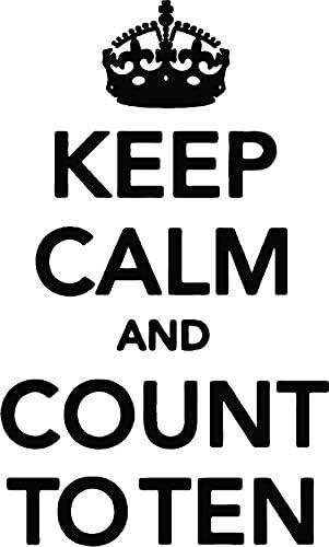 Camiseta de Manga Kanvas 120 x 200 cm L-XL Keep Calm and Contar ...