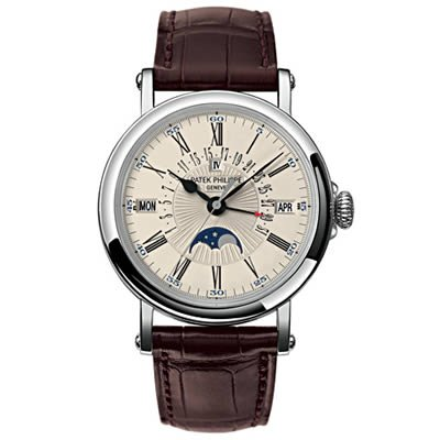 Patek Philippe Perpetual Calendar with Retrograde Watch in 18K White Gold – 5159G-001