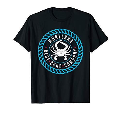 Maryland Crab Blue Chesapeake Bay Women Men Kids Boys Girls T-Shirt