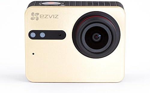 EZVIZ S5 Plus Cámara de Acción 4K Cámara Deportiva, 12MP, Carcasa Resistente al Agua, Banda Dual, Bluetooth 4.0 BLE, Micrófono dual, Procesador de Vídeo Ambarella: Amazon.es: Electrónica