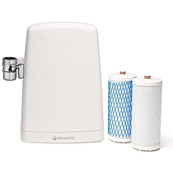 Aquasana Countertop Drinking Water Filter System, White