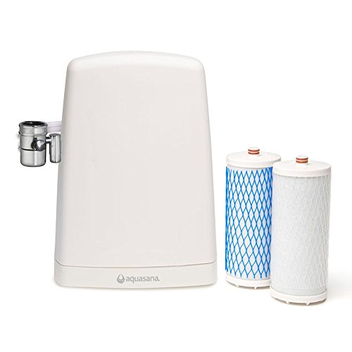 Aquasana Countertop Drinking Water Filter System, White
