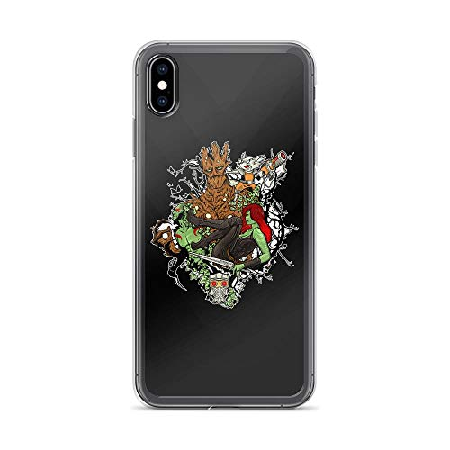 (iPhone Xs Max Pure Clear Case Cases Cover Galaxy Party Abstract Art)