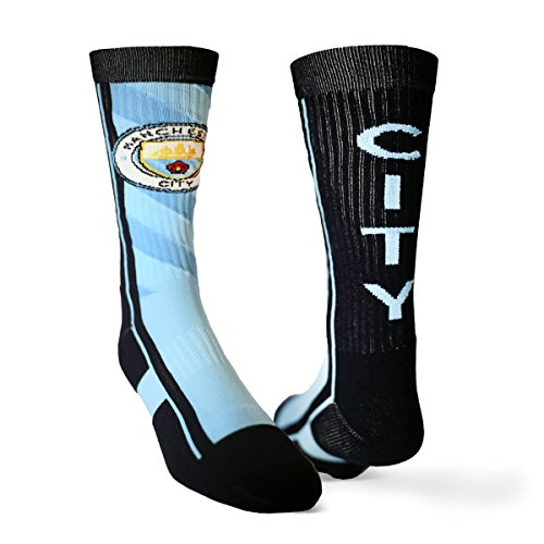 USWAG Manchester City 2017 Performance Sock (Large)