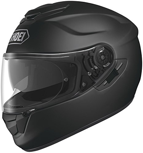 Shoei Solid GT-Air Street Bike Racing Motorcycle Helmet - Matte Black / 2X-Large