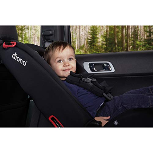 Diono 2020 Radian 3R, 3 In 1 Convertible, 10 Years 1 Car Seat, Slim Fit Design, Fits 3 Across, Black Jet