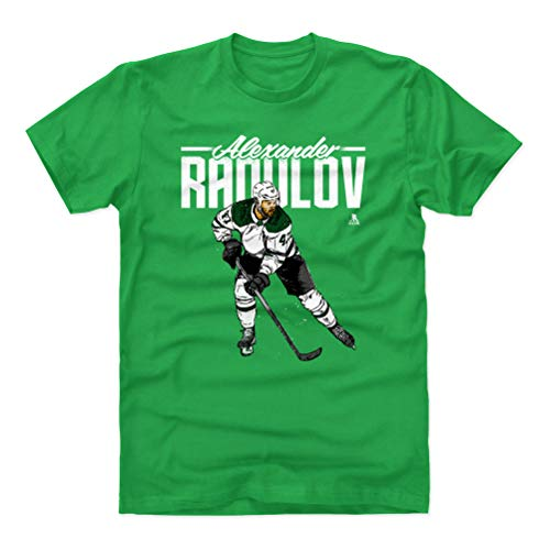 - 500 LEVEL Alexander Radulov Cotton Shirt (XXX-Large, Kelly Green) - Dallas Stars Men's Apparel - Alexander Radulov Grunge W WHT