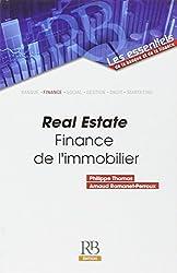 Real Estate : Finance de l'immobilier