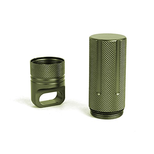 ALTTIMERY Outdoor Waterproof Capsule Seal Bottle Holder Case Container Dry Box Survival EDC Tool