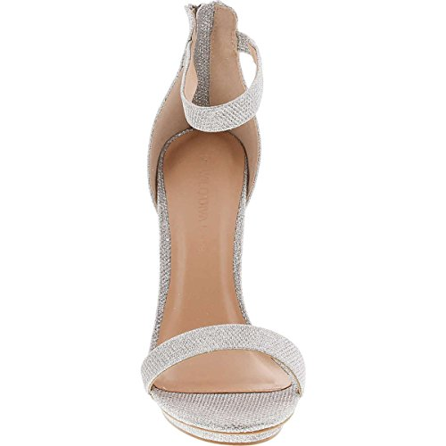 Pictures of Wild Diva Womens Open Toe Ankle Strap Champagne 2