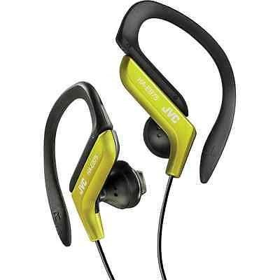 JVC HAEB75Y Sports Clip Headphone, Yellow