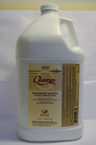 Zotos Quantum Moisturizing Shampoo Gallon Includes Pump (Pump Gallon Shampoo)