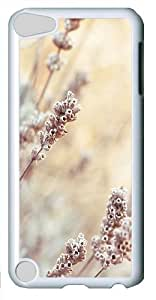 Bright depth of field plants Custom iPod Touch 5/Apple iPod 5 Case Cover Polycarbonate White