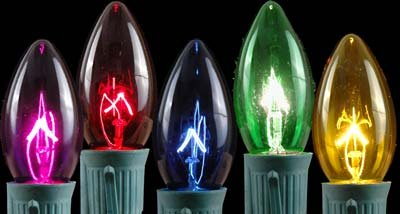 Novelty Lights Twinkle Christmas Replacement