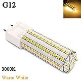 12W G12 3000K Corn Bulb SMD 81 LEDs, Esbaybulbs Warm White Color LED Light
