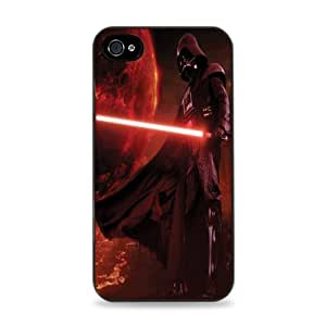 Darth Vader With Lightsaber Black Silicone Case for iPhone 6 Plus (5.5 inch) i6+