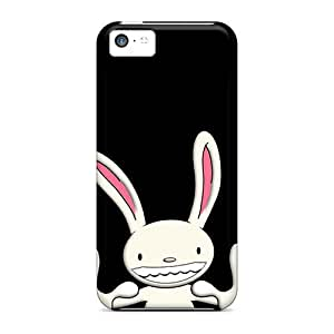 YwximpQ3701WKoNJ MeSusges Awesome Case Cover Compatible With Iphone 5c - Bunny