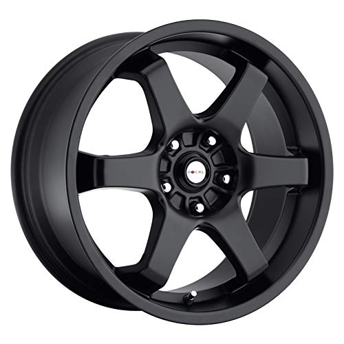 Focal 421B X Satin Black Wheel with Painted (17 x 7.5 inches /5 x 100 mm, 42 mm Offset) (Best Rims For Scion Frs)