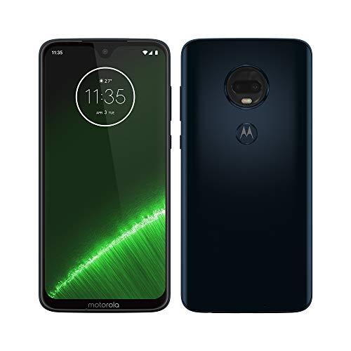 "Motorola Moto G7 Plus – Smartphone Android 9, Pantalla 6.2"" FHD+ Max Vision, Cámara trasera 16MP con Estabilizador…"