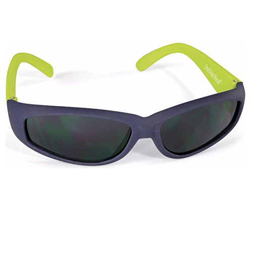 Blue Green Rubber Frame Sunglasses for Baby Boys Birth - 24 Mo. by Sun - Infants Best For Sunglasses