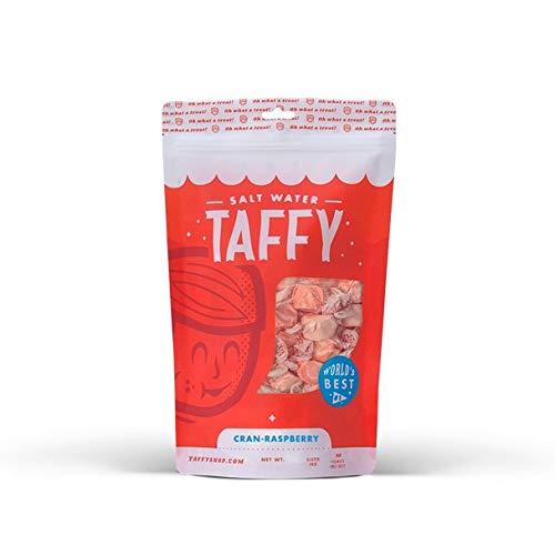 Taffy Shop Cran-Raspberry Salt Water Taffy - 1/2 LB Bag