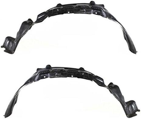 Koolzap For 03-07 Accord Front Splash Shield Inner Fender Liner Left Right Side SET PAIR