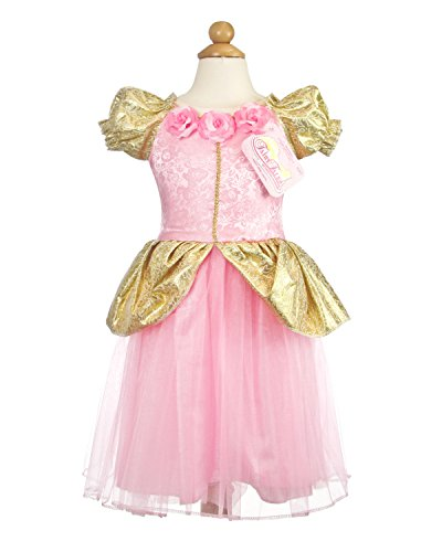 My Princess Academy Girls Elegant Costume Fairy Tale Dress Pink and Gold (Monster Energy Halloween Costumes)