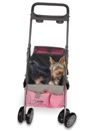 Fashion Flower Pet Stroller/Carrier/Car Seat Travel Folding Carrier