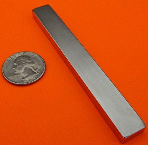 Super Strong Neodymium Magnet N42 4 x 1/2 x 1/4