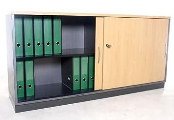 Sideboard Gesika 2 Oh 160 Cm Breit Buche Gebrauchte Büromöbel