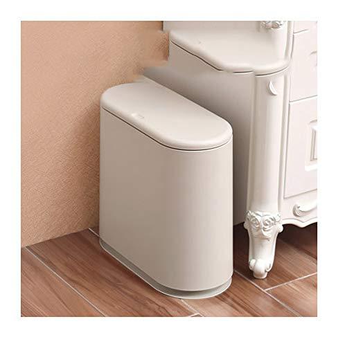 PPWAN ゴミ箱ホームリビングルームベッドルームプレスキッチンバスルームクリエイティブゴミ箱 - ゴミ箱 1526 (Color : D)  D B07SXK9H63