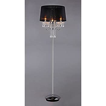 Minerva crystal floor lamp chandelier floor lamp amazon concordia crystal floor lamp aloadofball Images