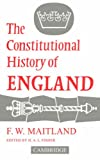Constitutional History of England 9780521091374