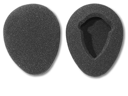 One Pair of 80mm Foam Earpads fits Infrared Wireless Headphones in Many Automobile Entertainment DVD Player - Headphone Pads Foam